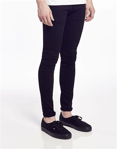 super skinny jeans shop for mens super skinny jeans asos criminal damage super skinny jeans in black for men lyst