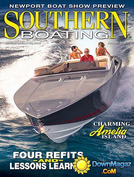 boating magazine usa southern boating usa august 2015 187 download pdf