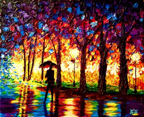 Blind Painter blind painter uses touch and texture to create incredibly colorful paintings bored panda