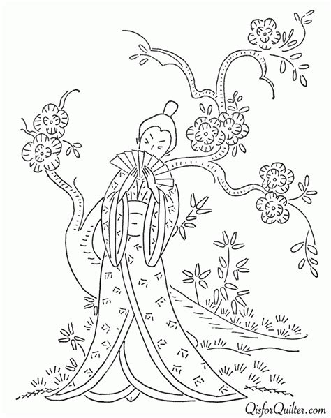 vintage patterns coloring pages q is for quilter 187 blog archive 187 vintage japanese