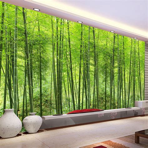 bamboo forest wall mural bamboo forest wallpaper reviews shopping bamboo forest wallpaper reviews on aliexpress