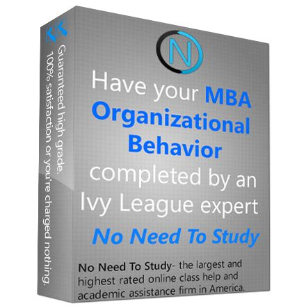 Mba In Organizational Behavior In India by Mba Organizational Behavior Class Noneedtostudy