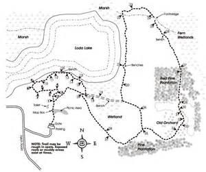 Chief Pontiac Trail Loda Lake Wildflower Sanctuary