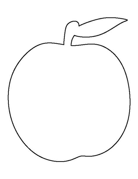 printable peach template
