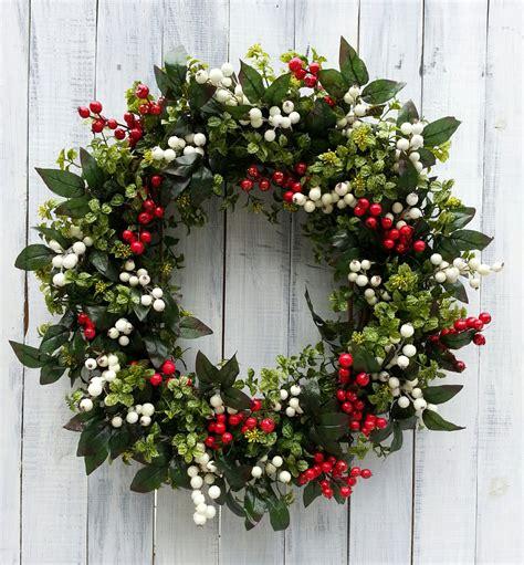 Artificial Wreaths For Front Door Wreath Front Door Wreath Wreath Boxwood