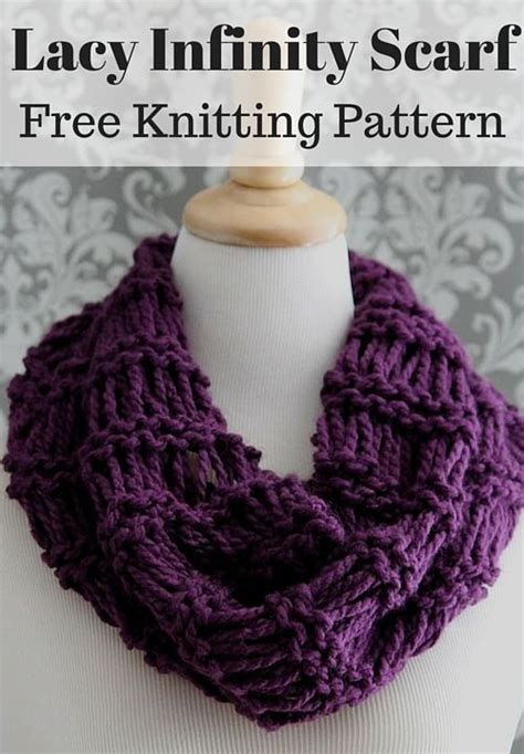 knitting pattern scarf infinity 910 best images about free knitting patterns cowls