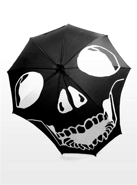 skull pattern umbrella accessories parasol on pinterest umbrellas lace
