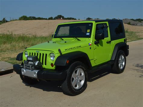 Jeep Rubicon Lime Green Jeep Wrangler Lime Green Mitula Cars