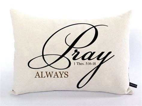 Cushion Cover Pray 11 best images about christian scripture pillows on