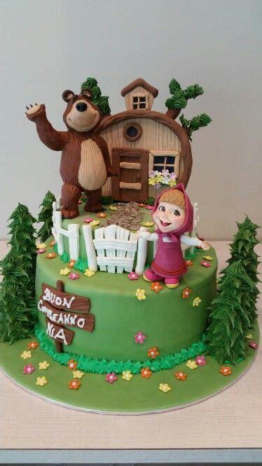 imagenes tortas artisticas tortas decoradas con masha y el oso tortas pinterest