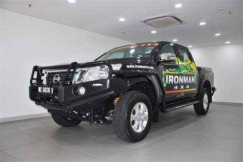 nissan malaysia ironman 4x4 accessories available at tan chong service