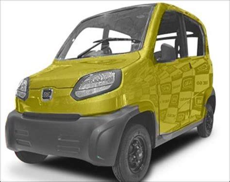 re bajaj new car the new bajaj re60 don t call it a car rediff business