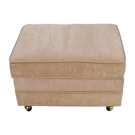 storage ottoman on wheels 28 bobs furniture storage ottoman melanie storage