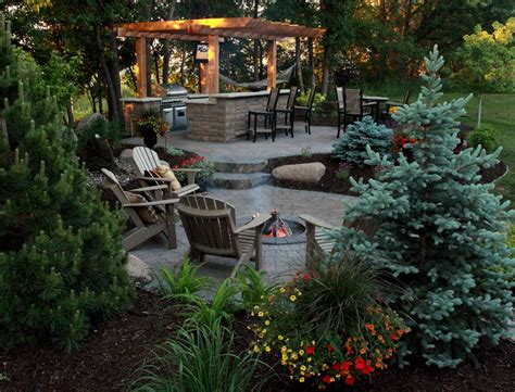 backyard outdoors hardscapes mn photo gallery landscape design mn spear