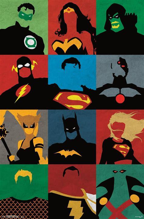 amazon justice league amazon com trends international justice league minimalist