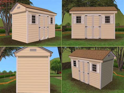 the shed option mod the sims outdoor shed 63 color options