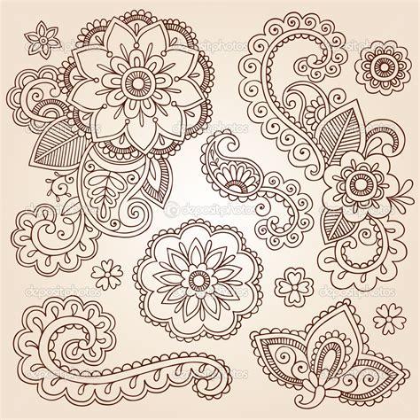 doodle flower design henna flowers henna mehndi doodles abstract floral