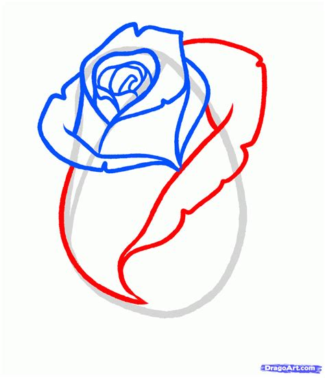 how to draw a tattoo rose step by step just simple how to draw a bud