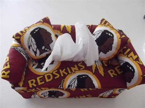 redskins sofa washington redskins tissue box sofa cover redskin stuff