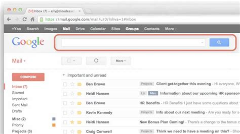 How To Search For Emails On Gmail Gmail Search