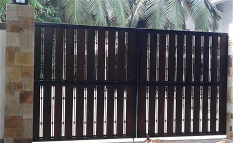 Garage Gate Designs steel grill gate sri lanka thudugala industries swing