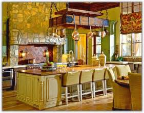 Kitchen Island With Hanging Pot Rack kitchen island with pot rack home design ideas