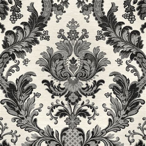 grey wallpaper on ebay goodwood black damask wallpaper on light grey textured