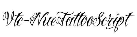 tattoo font emulator vtc nuetattooscript font