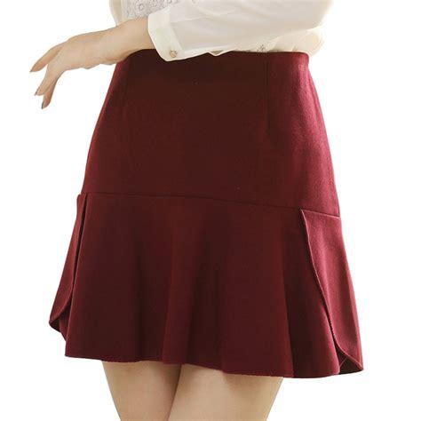 summer clothes 2015 high waist pleated skirts plus