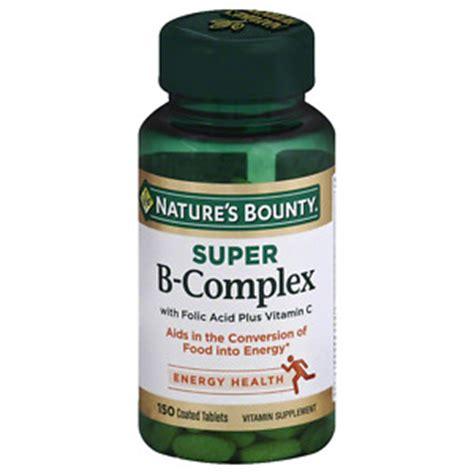 Sale Nature S Plus Mega B 100 S R 60 Tabs Produksi Energi Alami nature s bounty b complex c 100ct drugstore