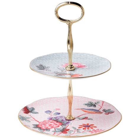 etagere porzellan wedgwood cuckoo 2 tier cake stand from lewis cake