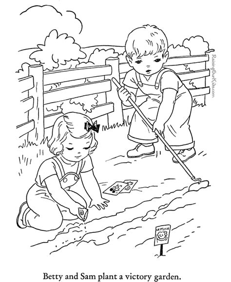 free coloring pages of agriculture