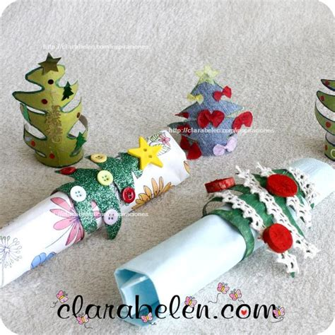 diy como hacer servilleteros para navidad con tubos de carton inspiraciones manualidades y reciclaje bolet 237 n n 250 mero