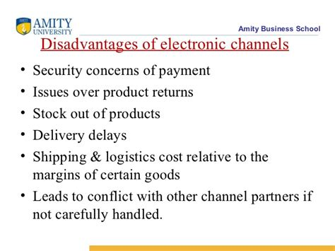 Amity Mba Value by 39779 Electronic Channels