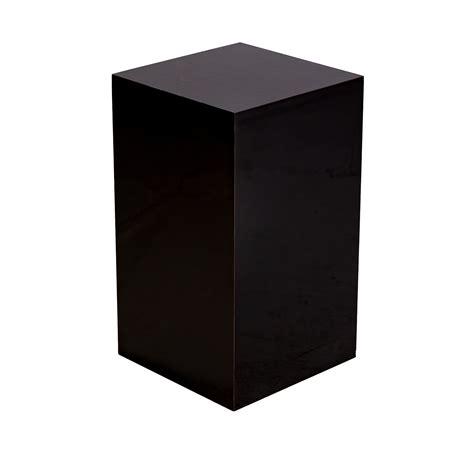 pedestal events pedestal black event trade show furniture rental formdecor