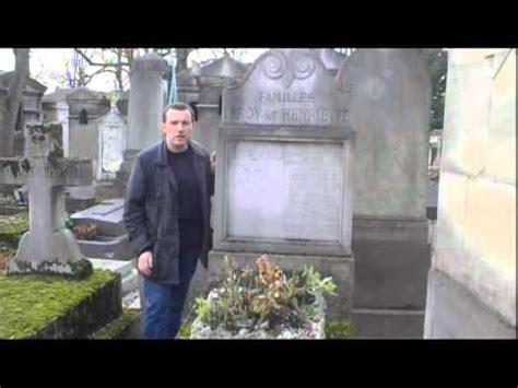 claude chabrol tombe tombe de pierre doris au cimeti 232 re du p 232 re lachaise youtube