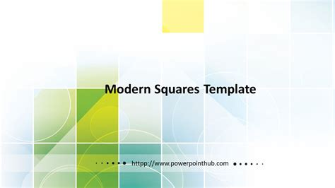 squares powerpoint template ฟร เทมเพลต free powerpoint template modern squares