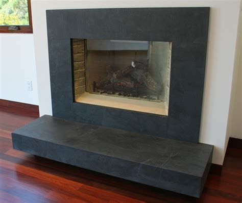 Black Slate Fireplace Surround by Slate Fireplace Surround On Slate Fireplace Traditional Fireplace Mantle And Wood