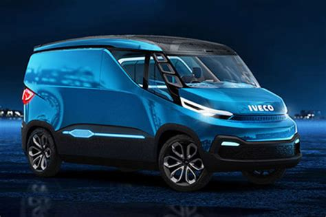The Van Of The Future Iveco Vision Concept Revealed