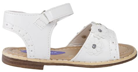 toddlers faux leather patent summer sandals wedding