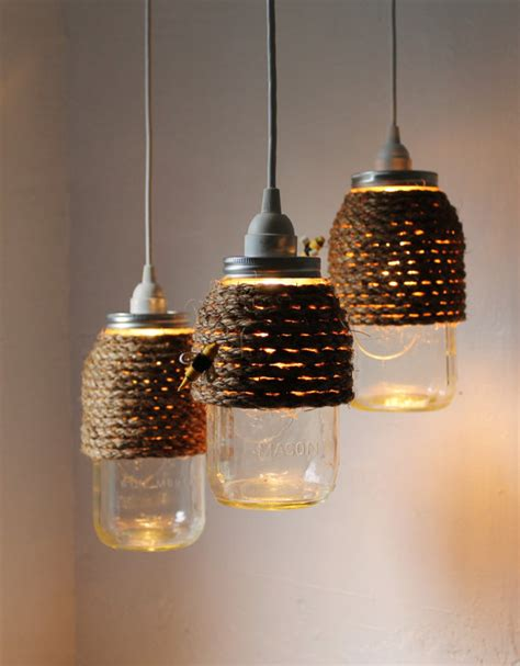 how to recycle recycled lighting decor