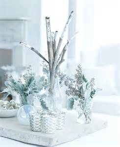 Silver Centerpieces For Table by 55 Beautiful Christmas Centerpieces Digsdigs