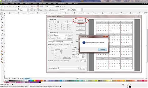 tutorial corel draw x5 en español tutorial para hacer un calendario en corel draw x5 taringa