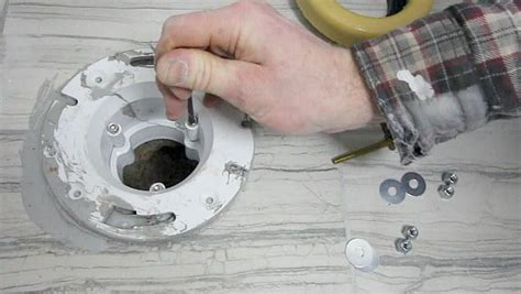 Gallery of how to replace a broken toilet flange