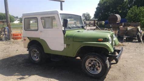 jeep kaiser cj5 1970 kaiser jeep cj5 for sale in filer idaho car