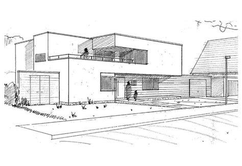 architektur skizzen zeichnen moderne architektur skizze