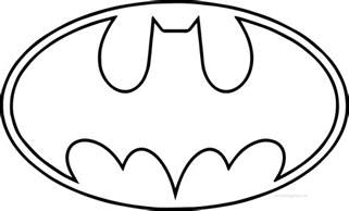 batman logo coloring pages coloring page