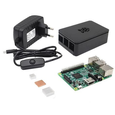 New Arrival Meyline 60101 1 4in1 4 in 1 raspberry pi 3 kit black free shipping
