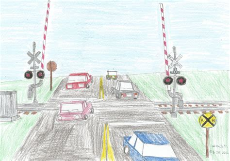Railroad Crossing L Base by Railroad Crossing By Willm3luvtrains On Deviantart