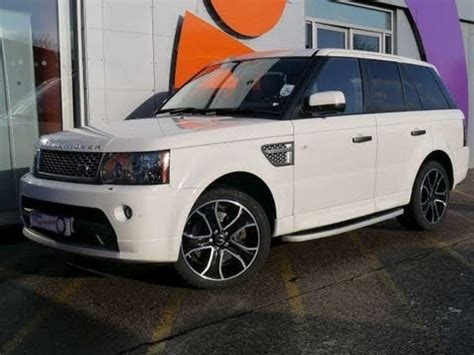 2010 white range rover for sale 2010 range rover sport hse 3 6tdv8 white for sale in